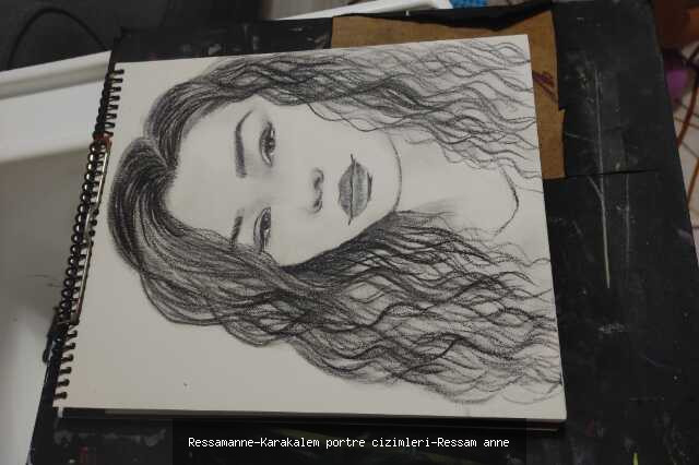Karakalem Portre Çizimleri