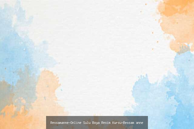 Online Sulu Boya Resim Kursu