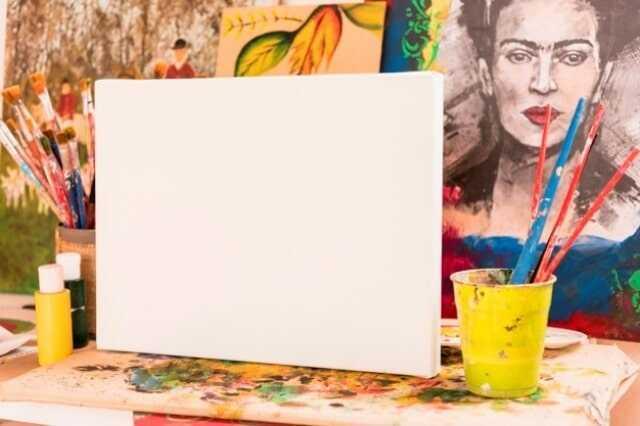 Akrilik Boya Resim Tablosu 70x100 cm Boyutunda